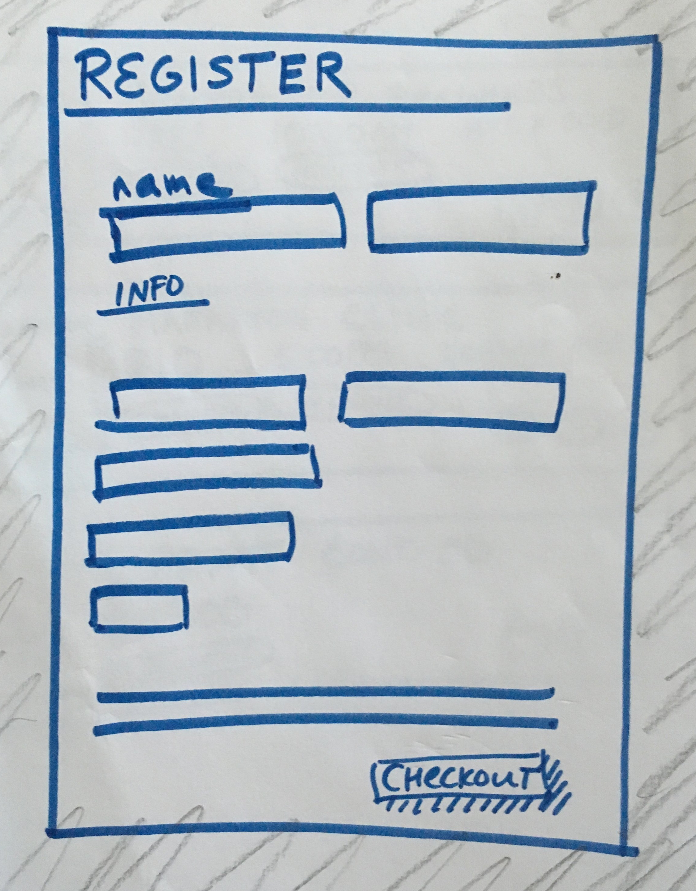 Registration Page Artifact