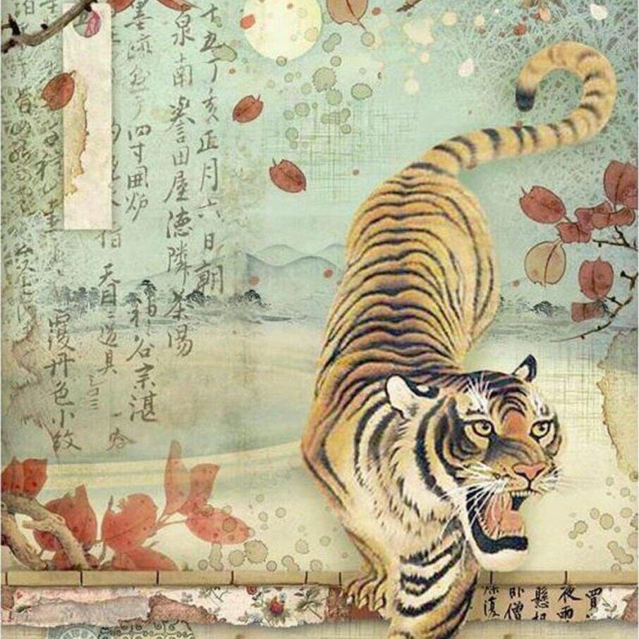 Image credit: https://queenzcraftfaire.com/stamperia-a4-rice-paper-tiger/