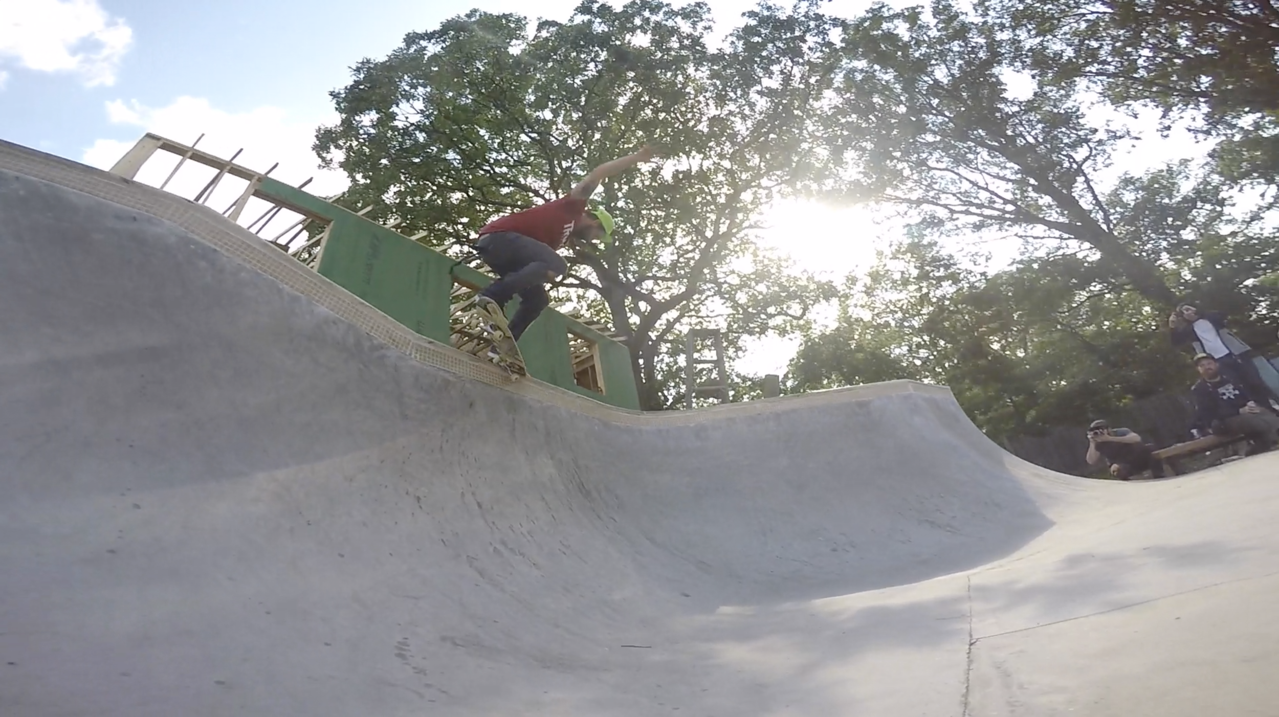 Dave Kaule - Crooked grind to fakie