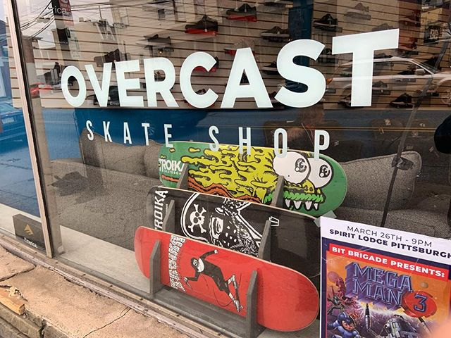 @overcastskateboardshop just scooped some decks! I found a few mellow 8.5s and they got them!