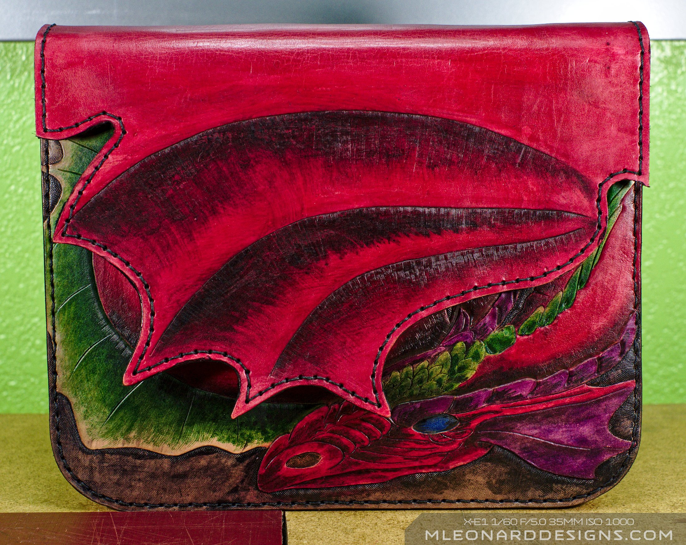 Dragon Purse Closed