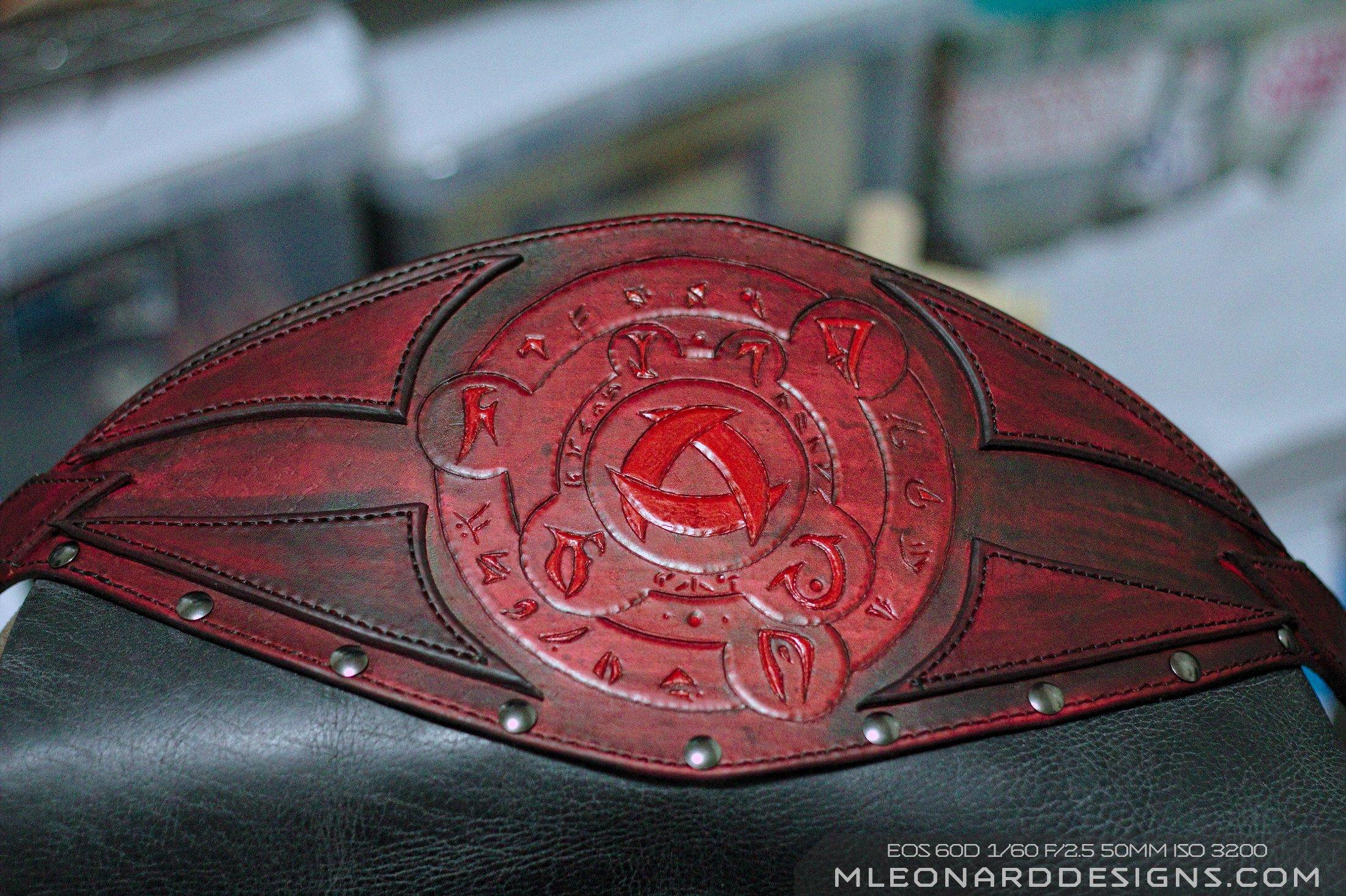 Red Rune Belt