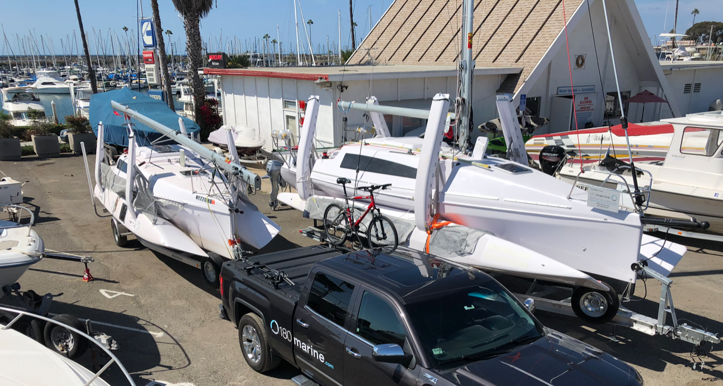 Oceanside, California / Experience a great way to decide to buy a trimaran!