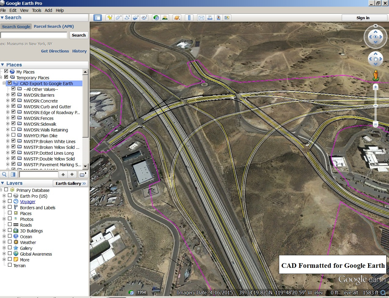 Google Earth Pro screenshot