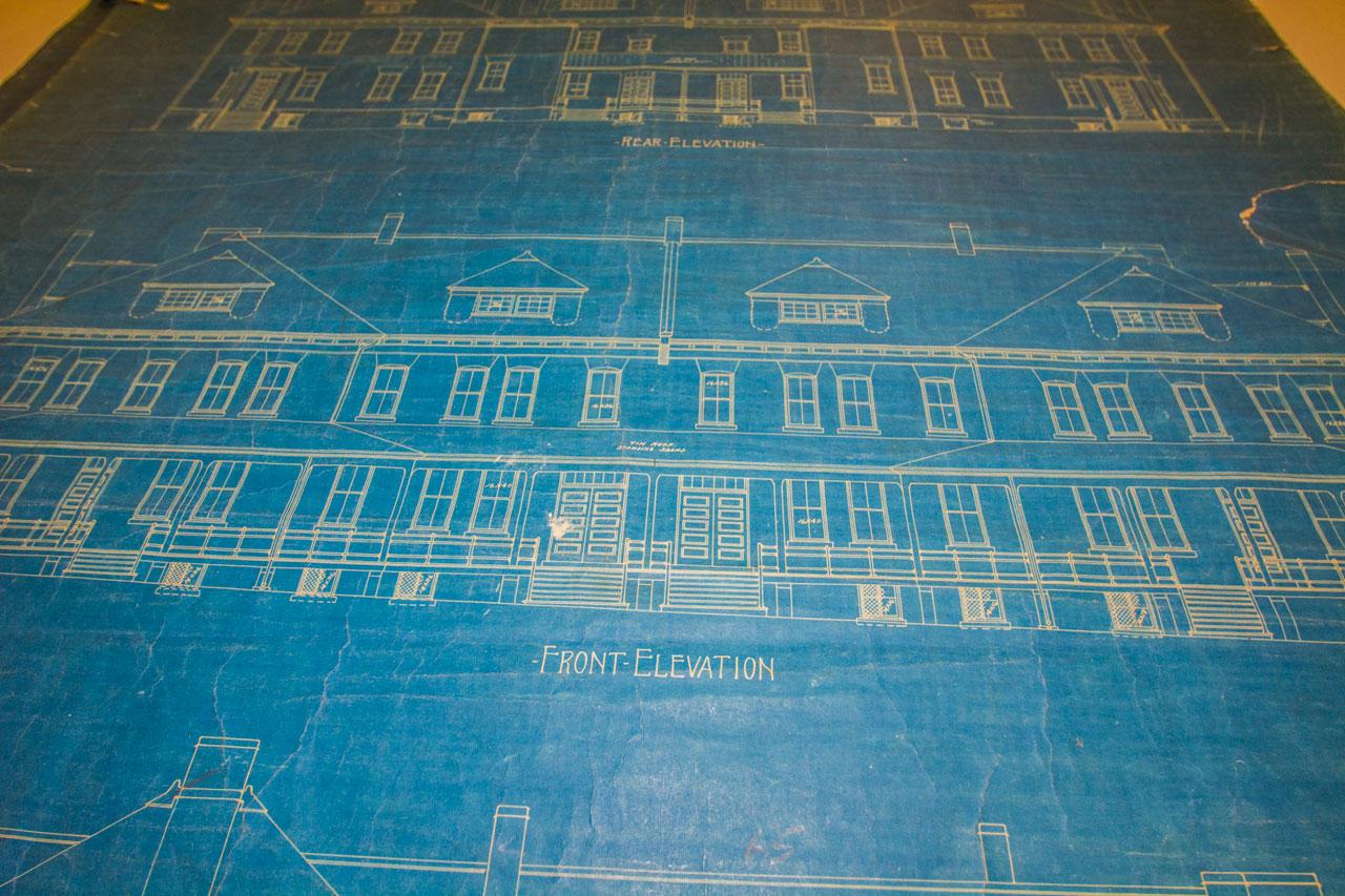 Montgomery Barracks blueprints