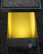 Marker at the Pentagon 9/11 Memorial