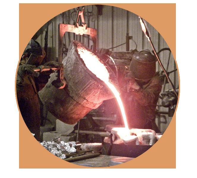 Bronze casting at Laran Bronze Foundry. How bronze sculpture is made