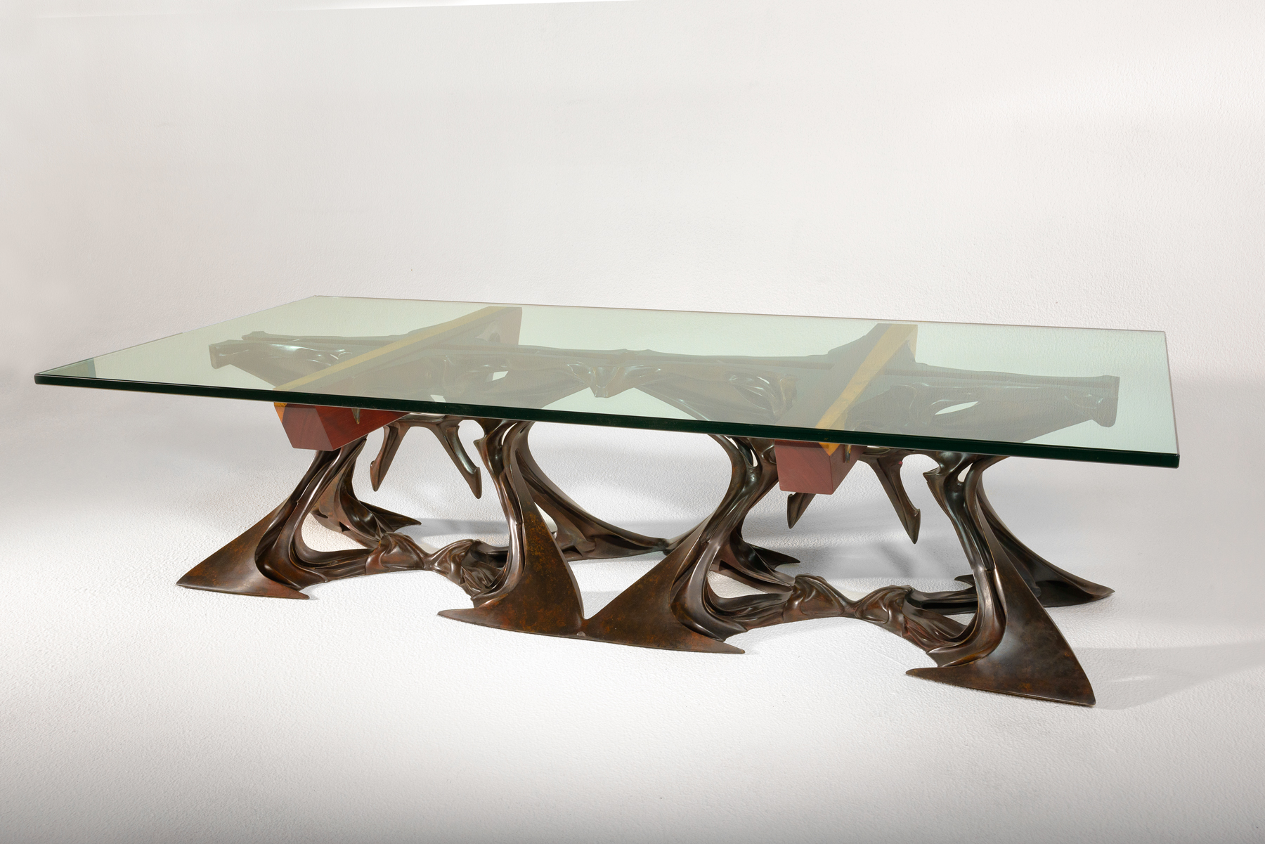 Just one of the many unique tables that will be on display.