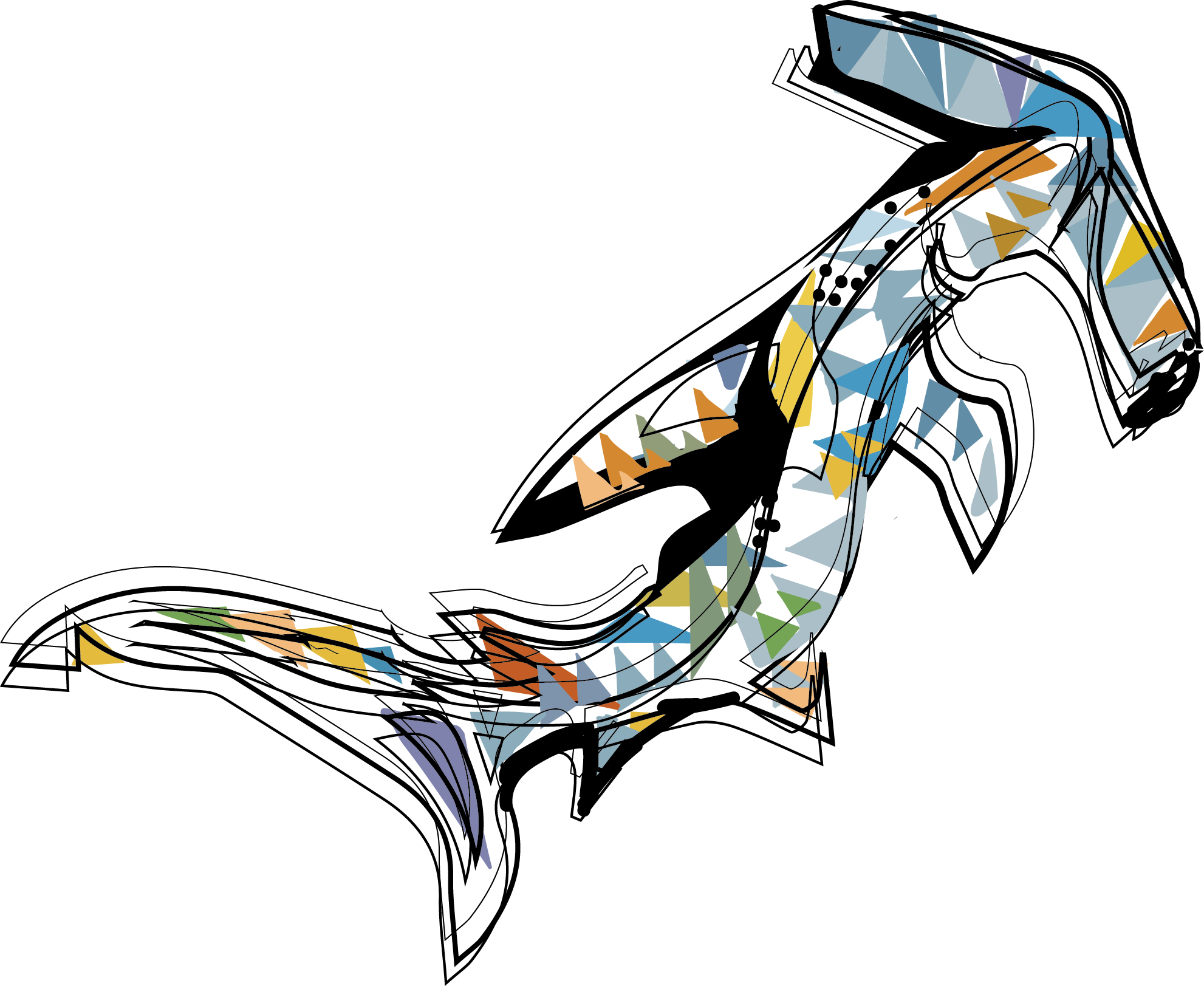 Basking Shark by Christina Ward