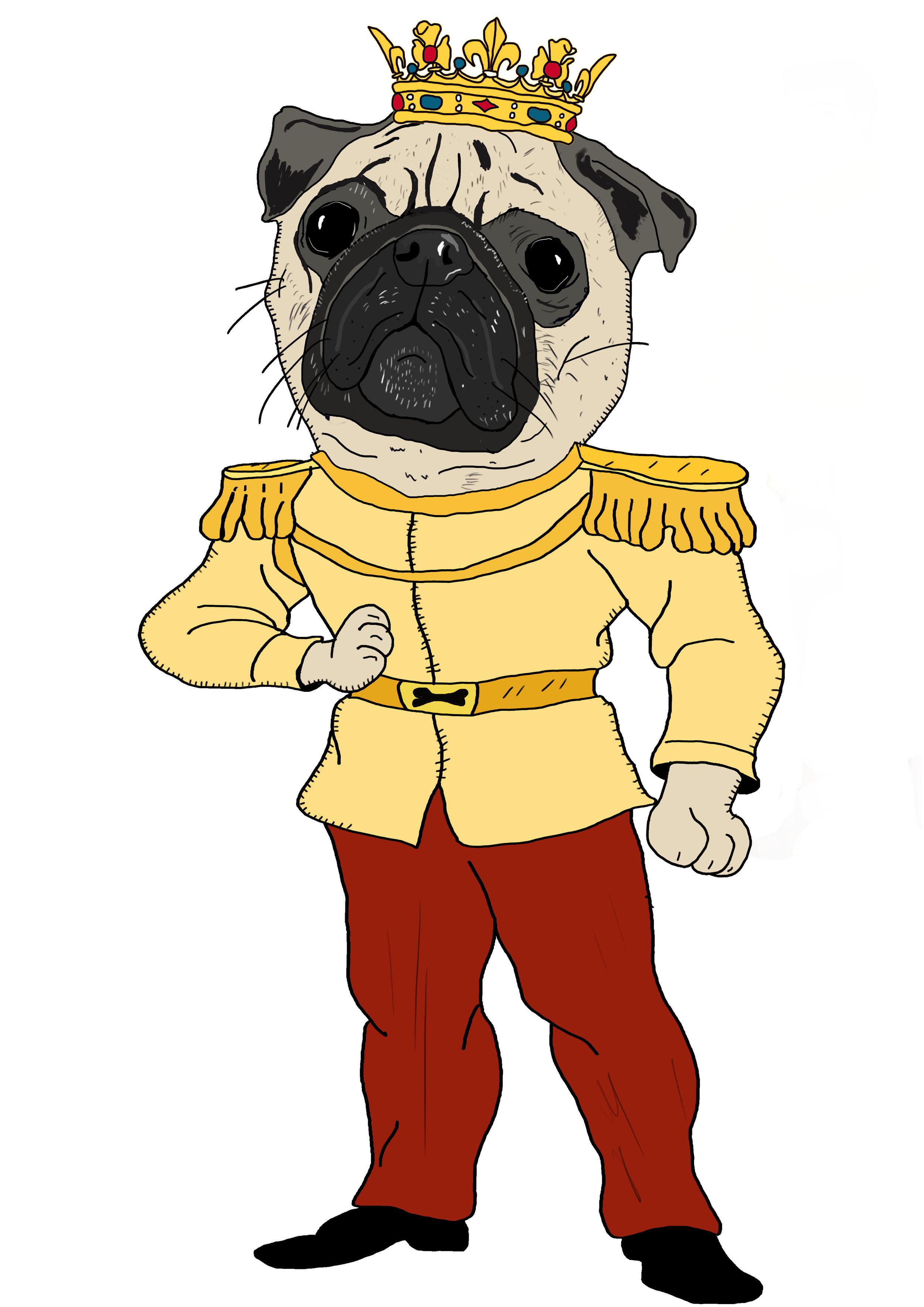 The Pug Prince.