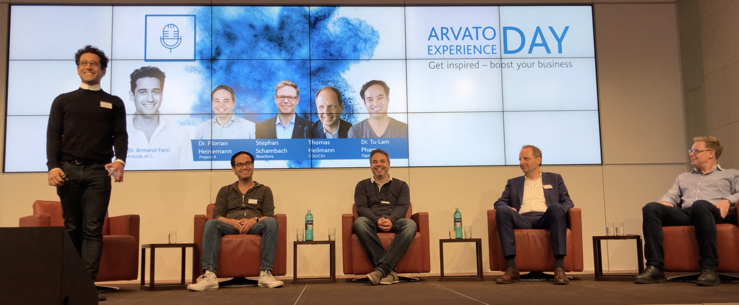 Arvato eXperience Day Panel Debate, Berlin