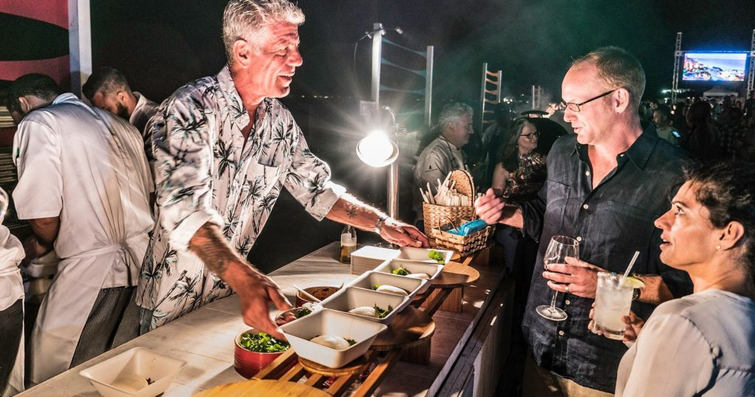 Anthony Bourdain was an enormous inspiration to a lot of people from many different walks of life.