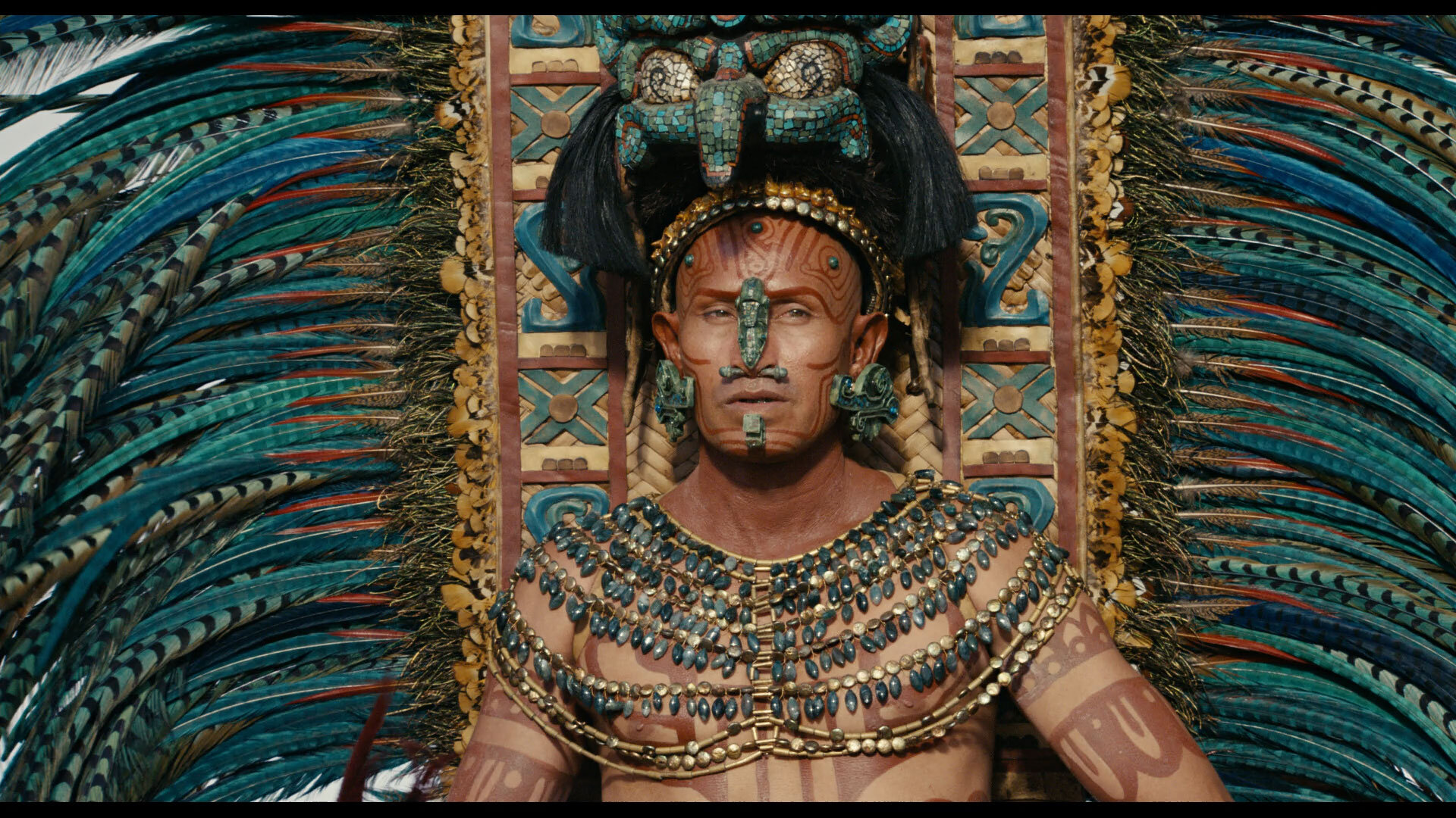 Apocalypto is a gory and gorgeous film that overflows with thrilling action sequences, dazzlingly staged and beautifully filmed.