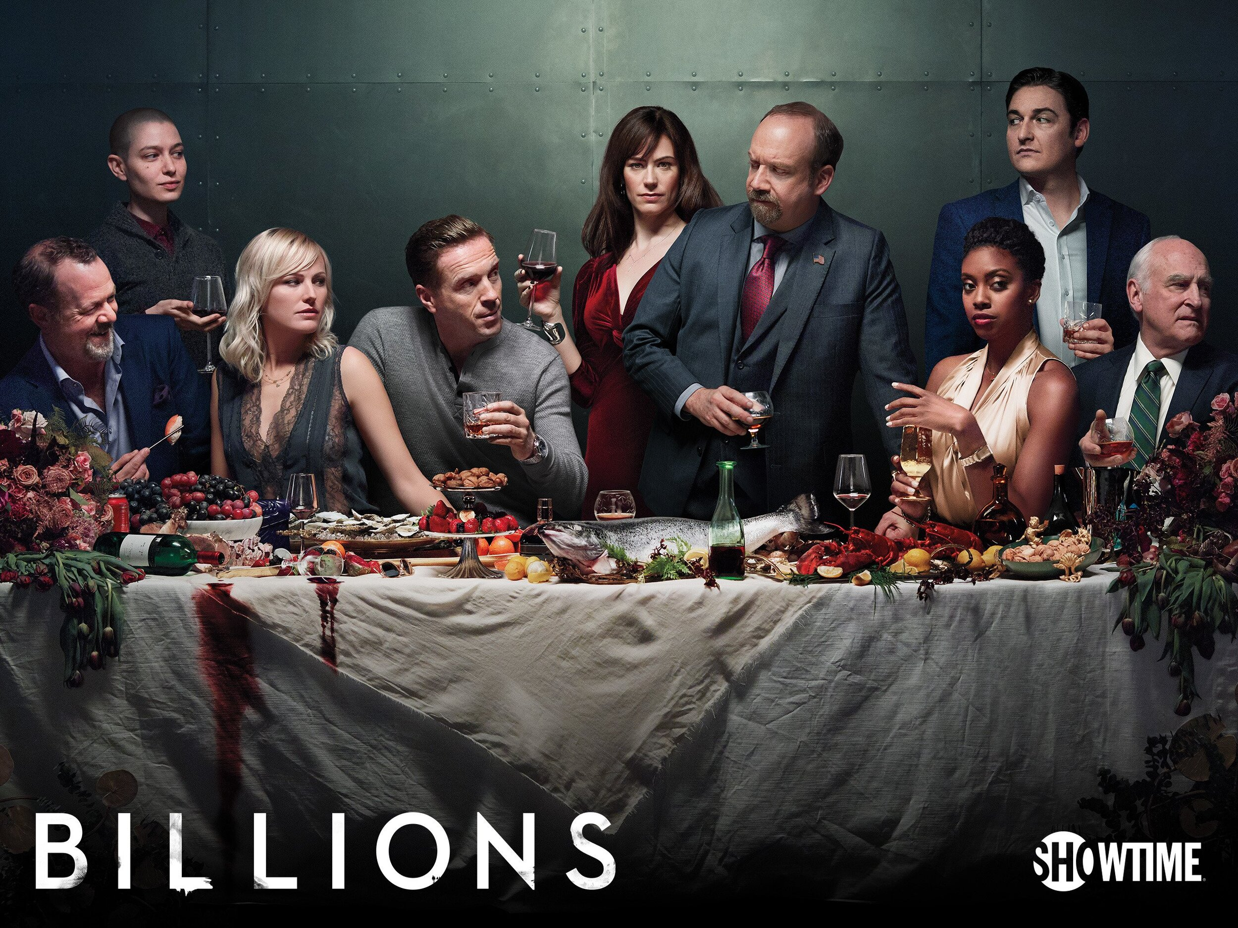 Billions: Wealth, influence and corruption collide in this drama set in New York.