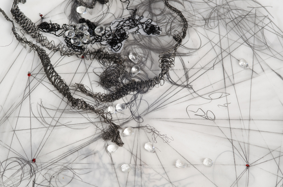 Mapping: Heart Weeps (detail)