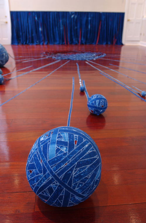 Weaving Geographies (detail)