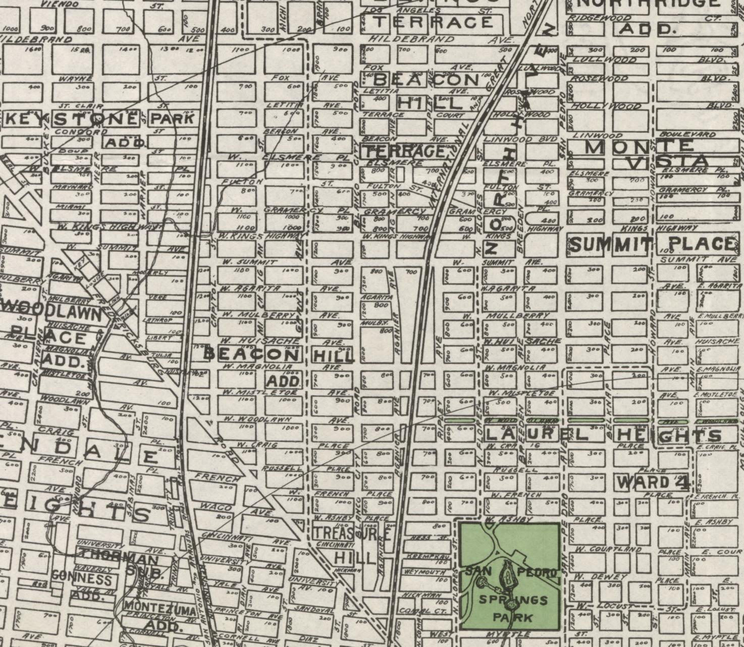 1924 map