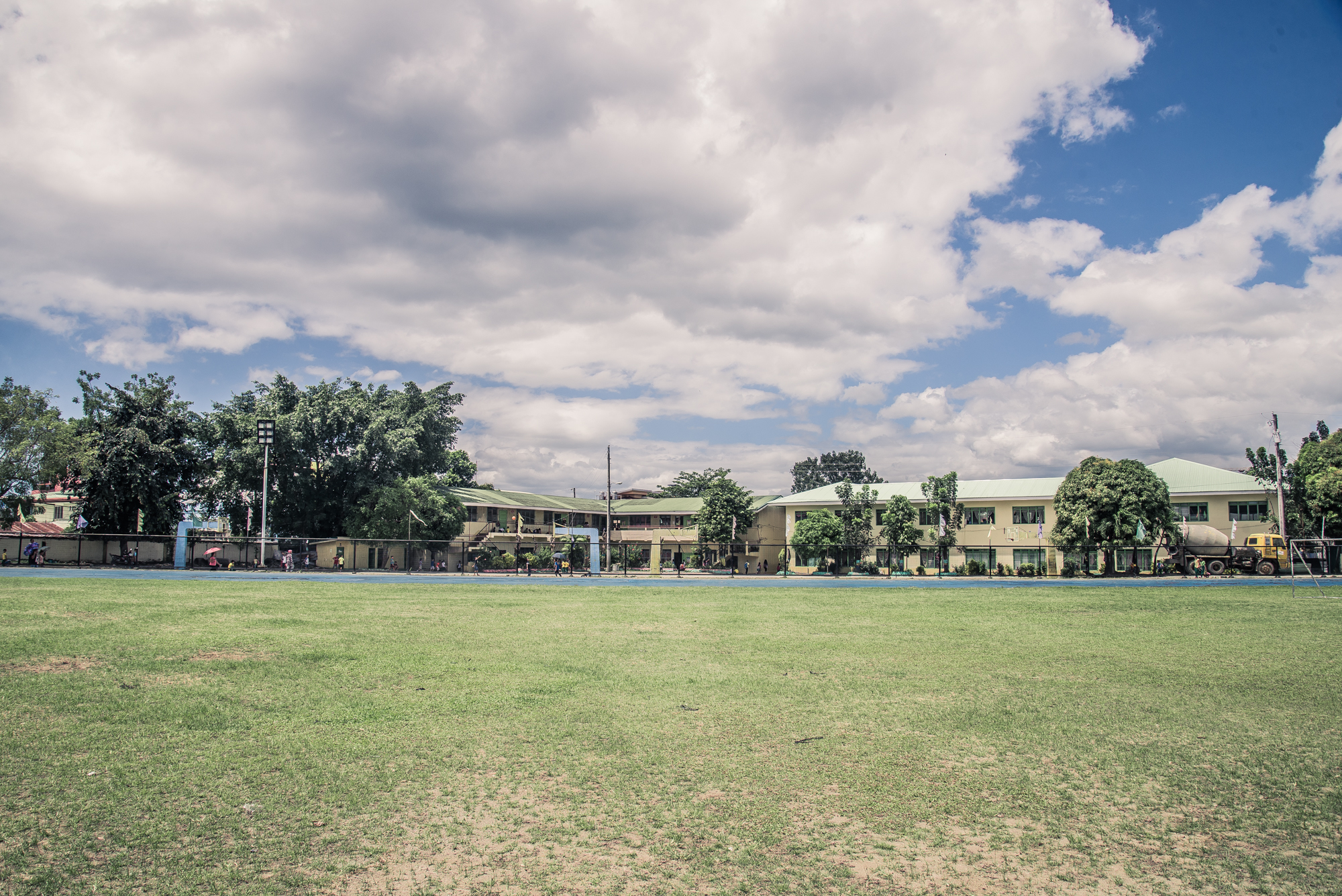 Ormoc City's current main sports facilities - Site for Ormoc's new Fencing Center, covered Basketball court as well as a new Grand Stand.