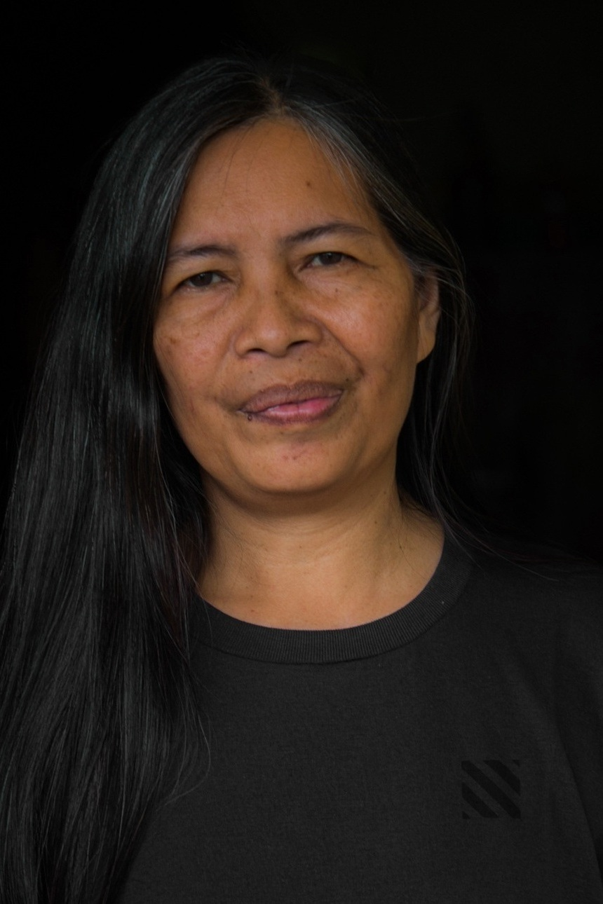 Josefa Pizon - Community Facilitator - Josefa is one of the key initiators of the Learning Center projects and have actively worked with various groups in rural villages in the Philippines the past 20 years.