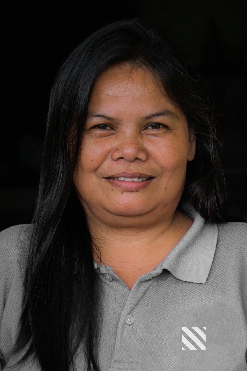 Anecita Gelsano - Community Facilitator - Anecita is responsible for data collection, field research and facilitates activities supporting the Learning Center implementation in each of the villages.