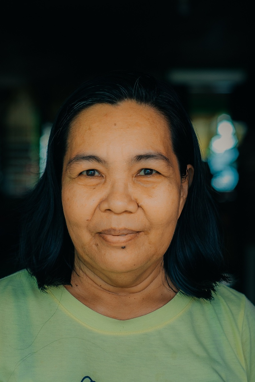 Merlina Lumakin -Native Material Coordinator - Together with her team of weavers, Merlina assists Native Narrative with the production of interior materials for our architecture projects in the Philippines.