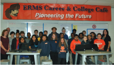 What's inside - East Ridge Middle School and Tyner Middle Academy launch online Career Exploration to help students connect the dots between their interests, their studies, and the world of work.