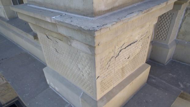 Capitol Stone Deterioration