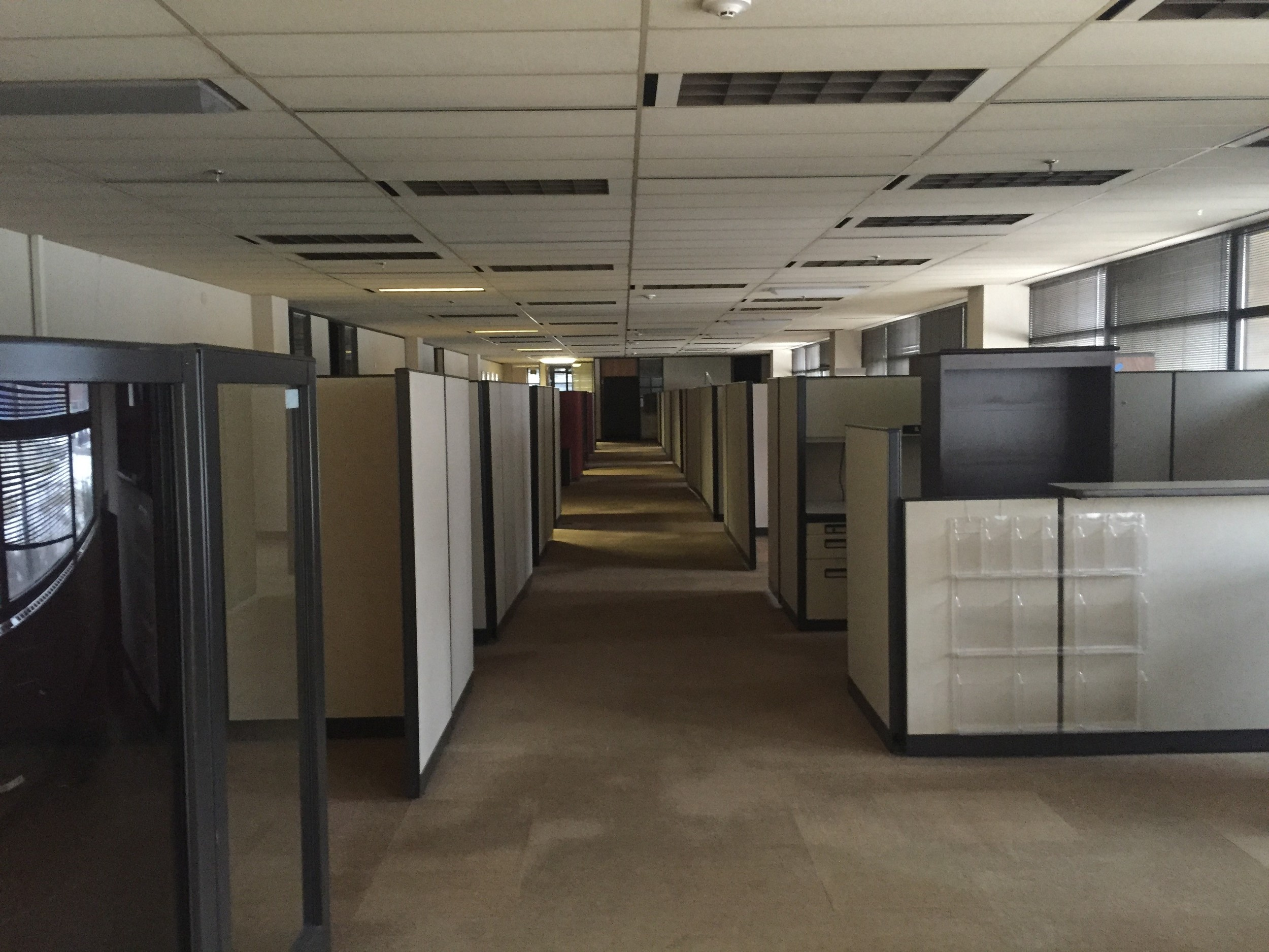 Existing Circulation Problems in Herschler Building