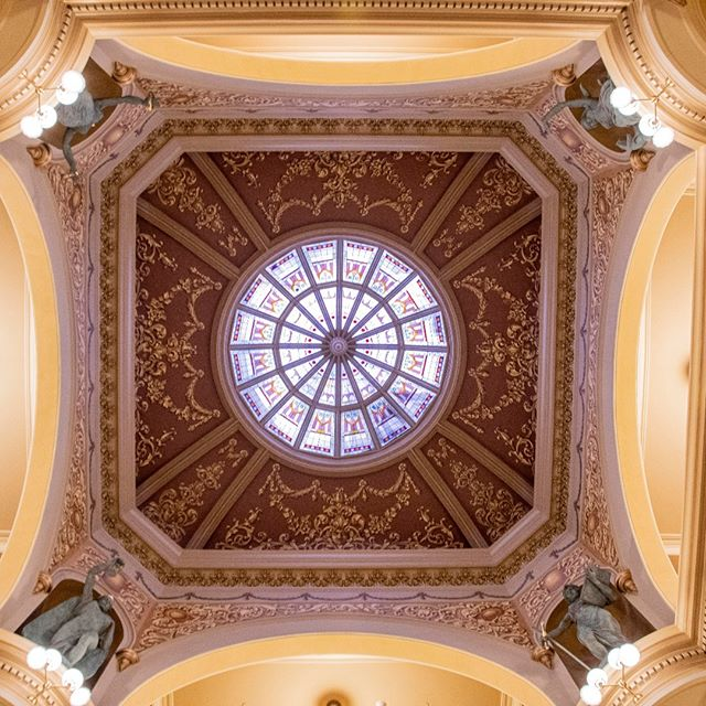 Come meet the Four Sisters, new bronze sculptures in the rotunda, and tour the Capitol today from 2 p.m. - 8:30 p.m. during the Capitol Square Open House and Celebration. Festivities start a noon and end with fireworks tonight.