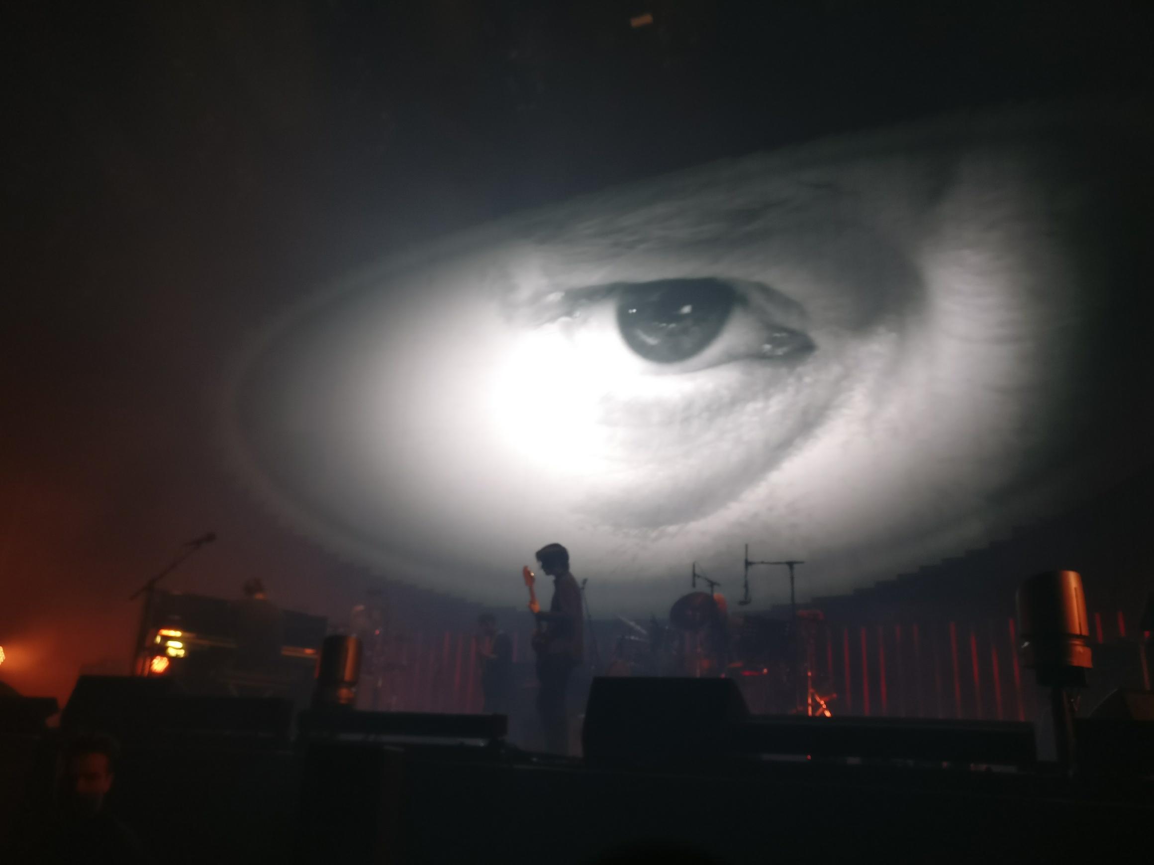 Thom Yorke's eye—perhaps too human now?