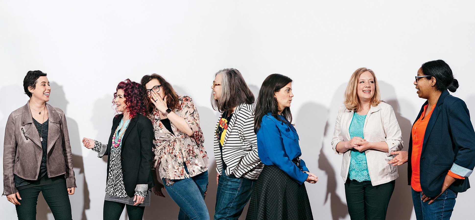 Our Founder, Jessica Roubitchek (left), is pictured in Inc. Magazine this month, along with valued Mastermind Group colleagues (left to right) Alisa DiMarco of  Tekhni Wovens  , Xza Higgins of  Parent & Co , Candice Blansett-Cummins with  C'Mon Let's Rally  and  Wishcraft Workshop , Misse Daniel of  HoneyBee Weddings , Jessica Solares of  Bucktown Music , and Tiana Kubik of  TK Photography .   Click here  to read the article!