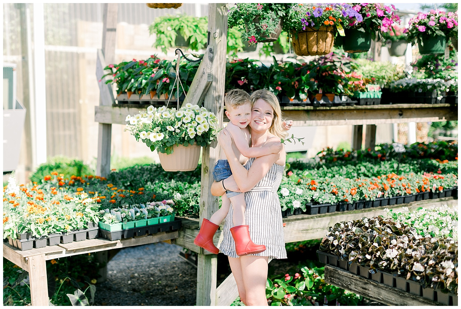 Influencer, Hunter Boots, Millstone Nursery, Memphis Photographer