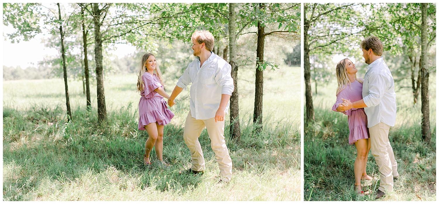 Haley & John Mark Engagement Photography Memphis Wedding Photographer