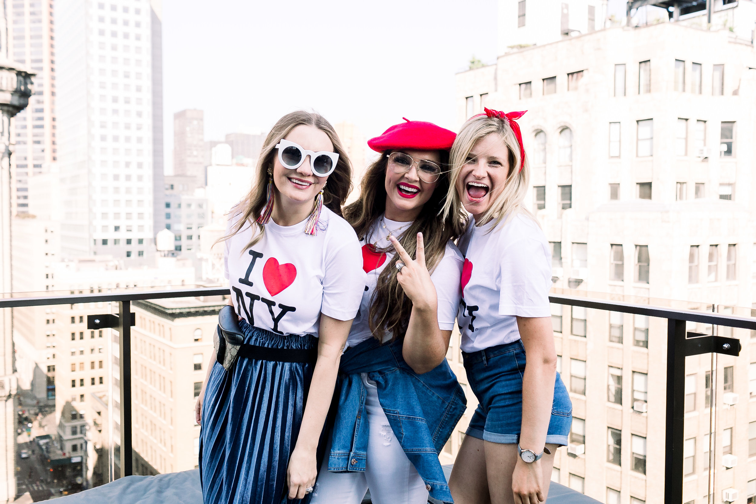 New York City fashion week Collins Touhy Smith Megan Bonner rooftop by Mary Kate Steele Photography