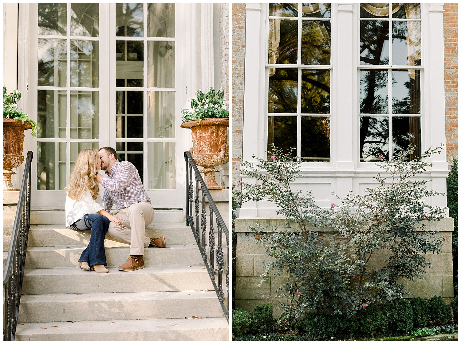 Kailan and Tyler Memphis Engagement Session shot by Memphis Luxury Wedding Photography Mary Kate Steele