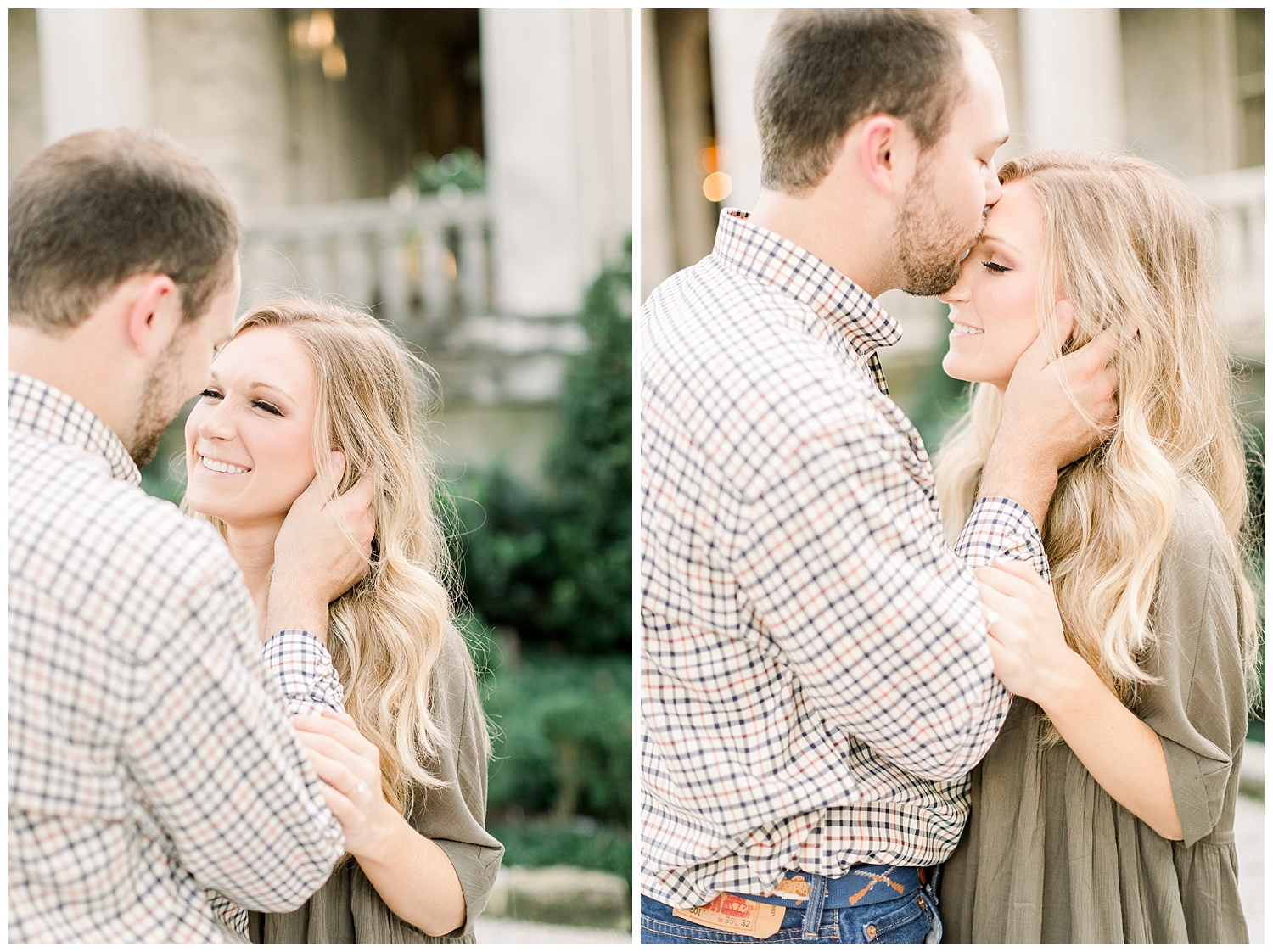 Kailan and Tyler Memphis Engagement session shot by Mary Kate Steele Photography Luxury Wedding Photographer