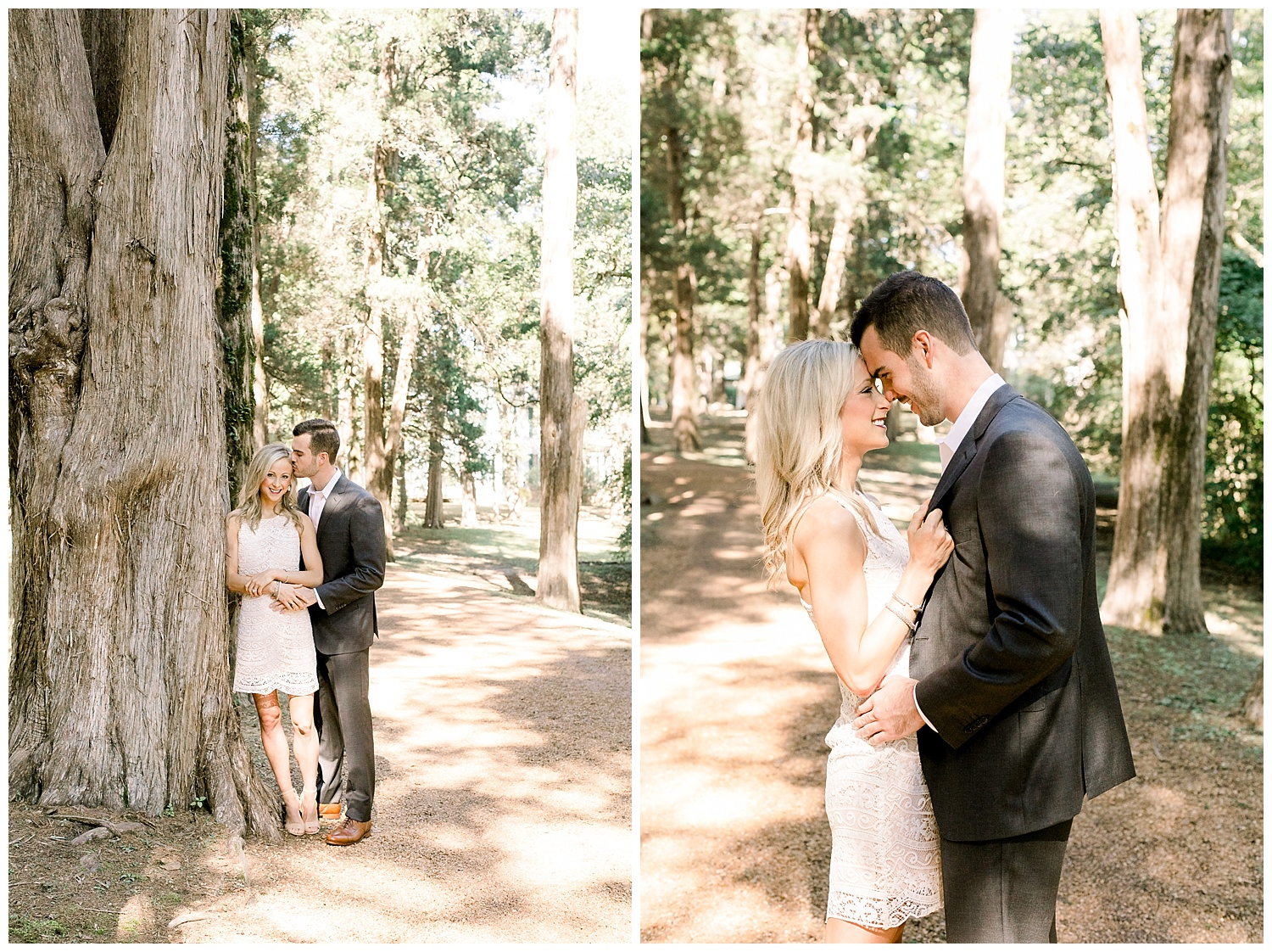 Katie and Jared Rowan Oak Engagement session shot by Mary Kate Steele Photography Fine Art Oxford Mississippi Wedding Photographer