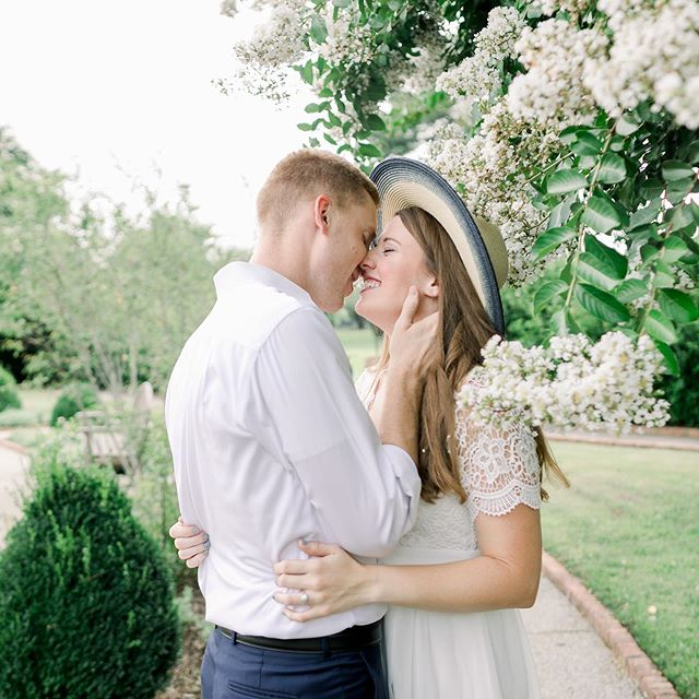 Yesterday's engagement session was so dreamy! I am loving all these pretty blooms in the rose garden at the Memphis Botanic Garden!🌸