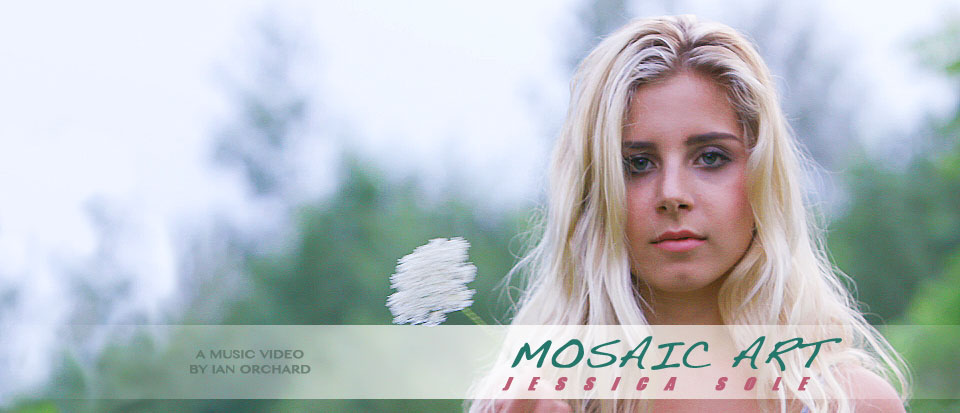 """""""Mosaic Art"""" is a music video for the titular song by emerging artist Jessica Sole."""