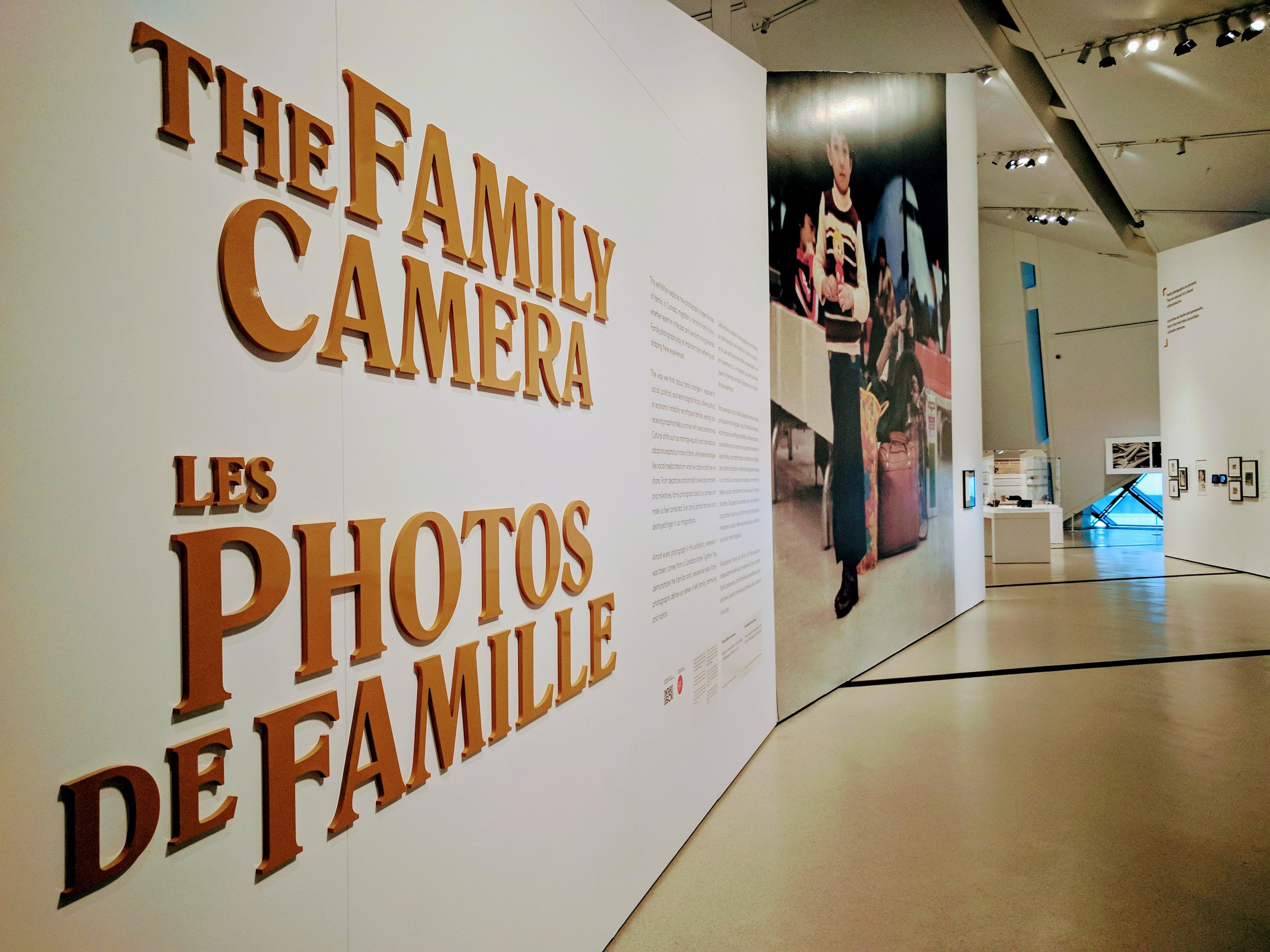 THE FAMILY CAMERA,  INSTALLATION VIEW (J. Orpana, 2017).
