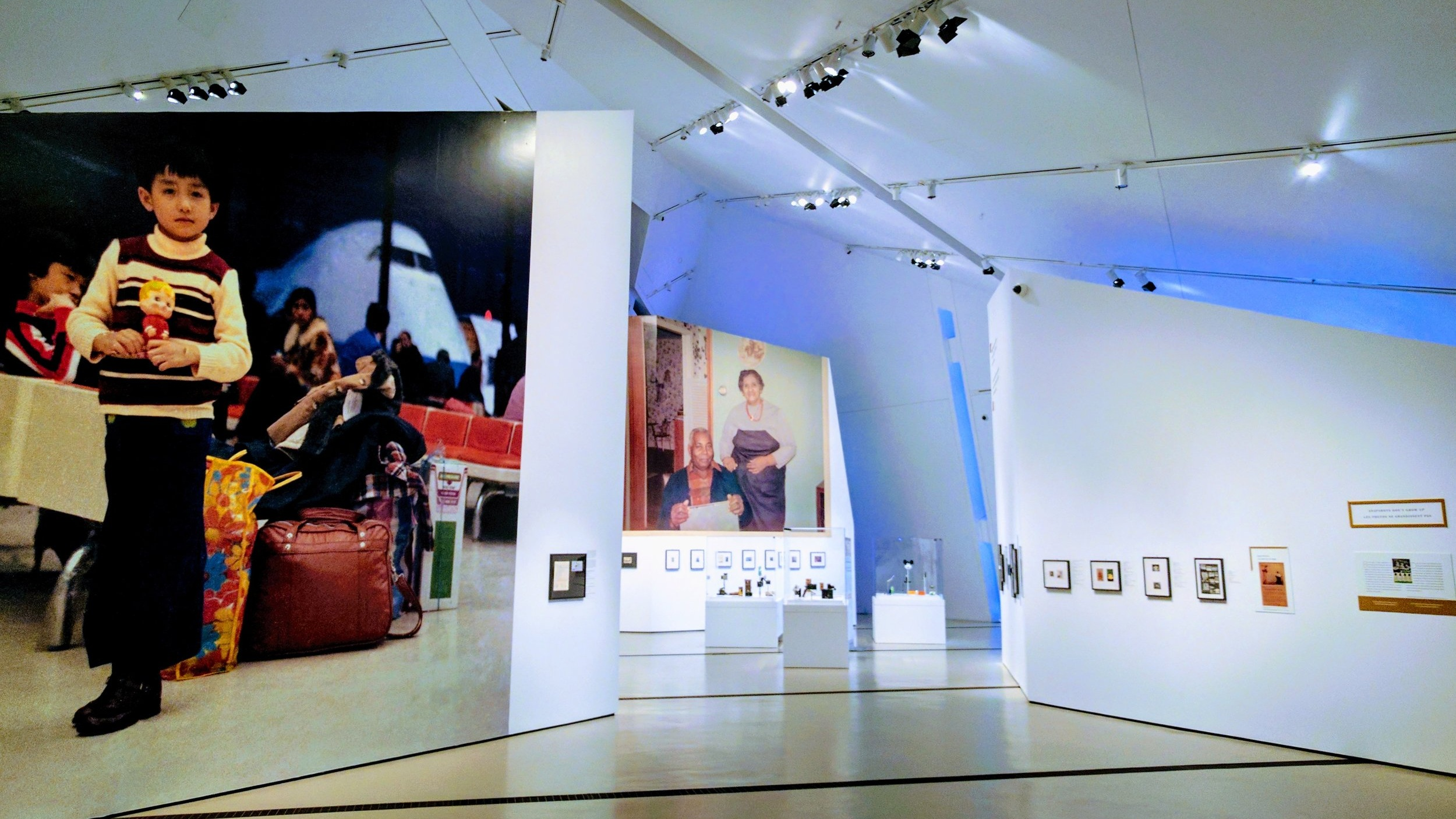Installation view of  The Family Camera  (J. Orpana, 2017)