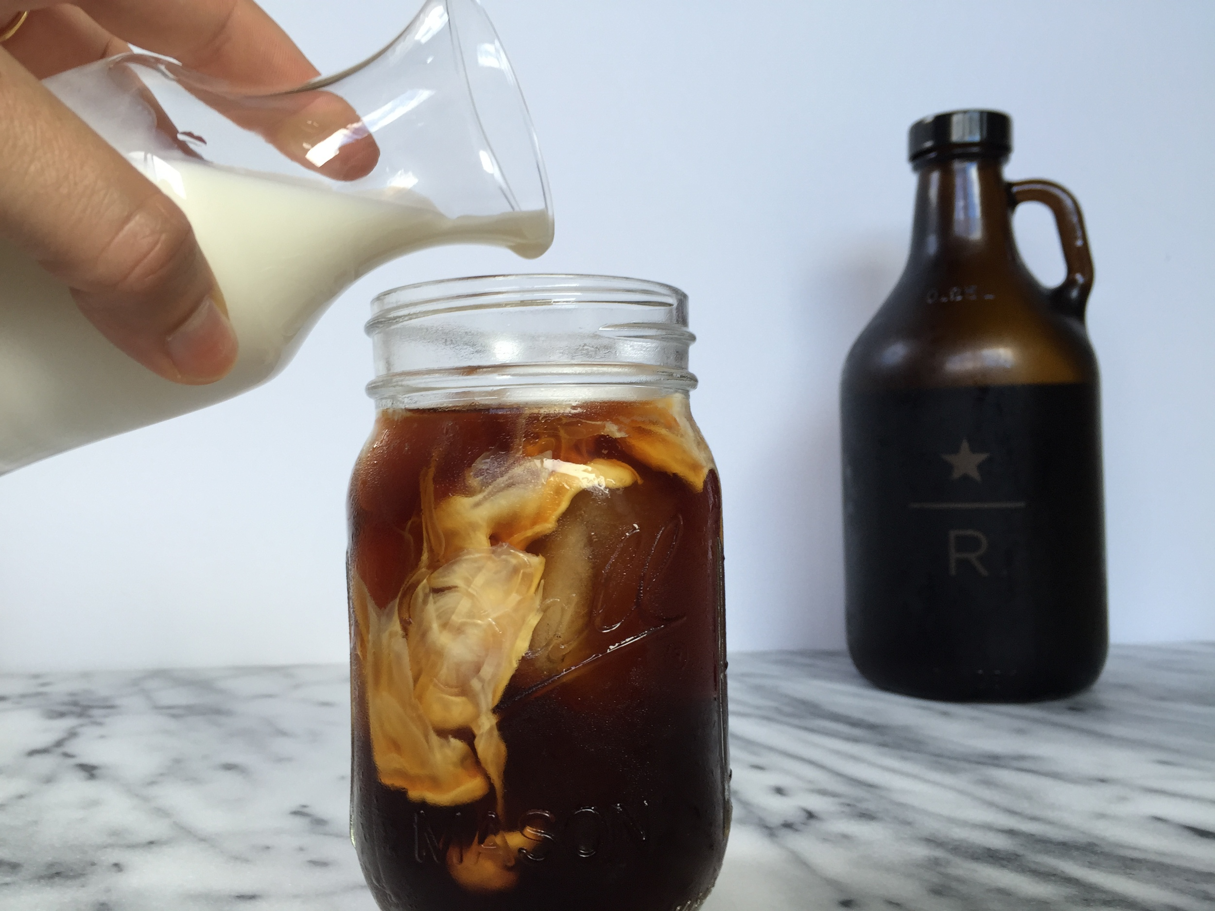 Homemade Cold Brew Iced Coffee | All Purpose Flour Child