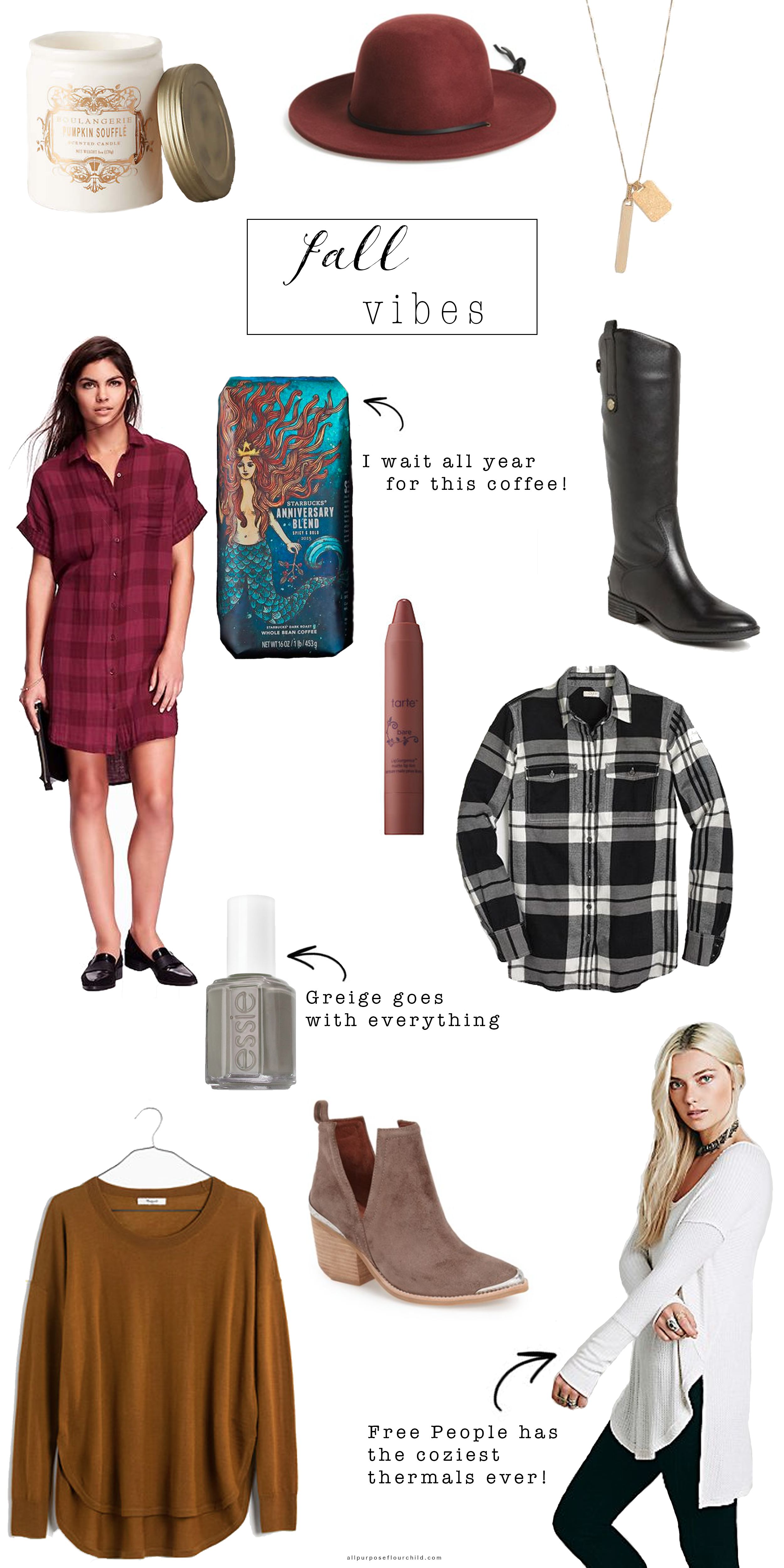 Fall Vibes Wishlist | All Purpose Flour Child