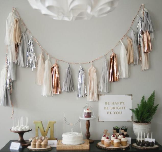 DIY Tassel Garland | All Purpose Flour Child