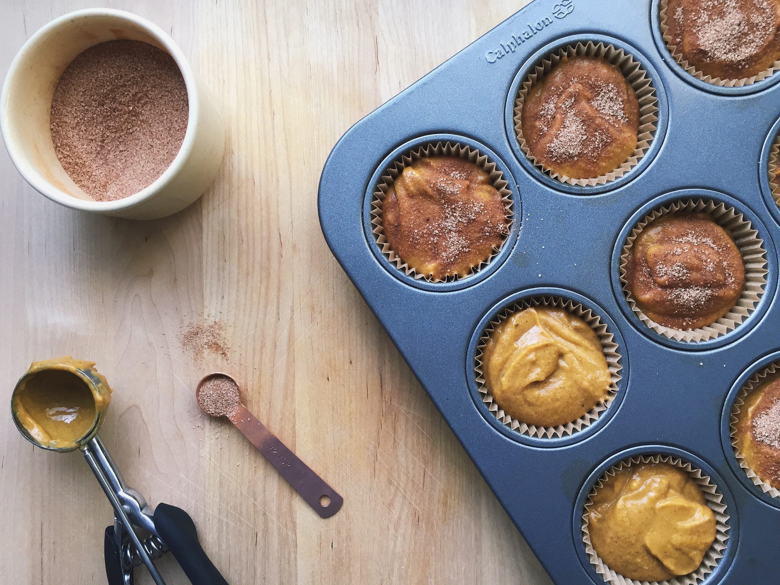 Maple Pumpkin Muffins | All Purpose Flour Child