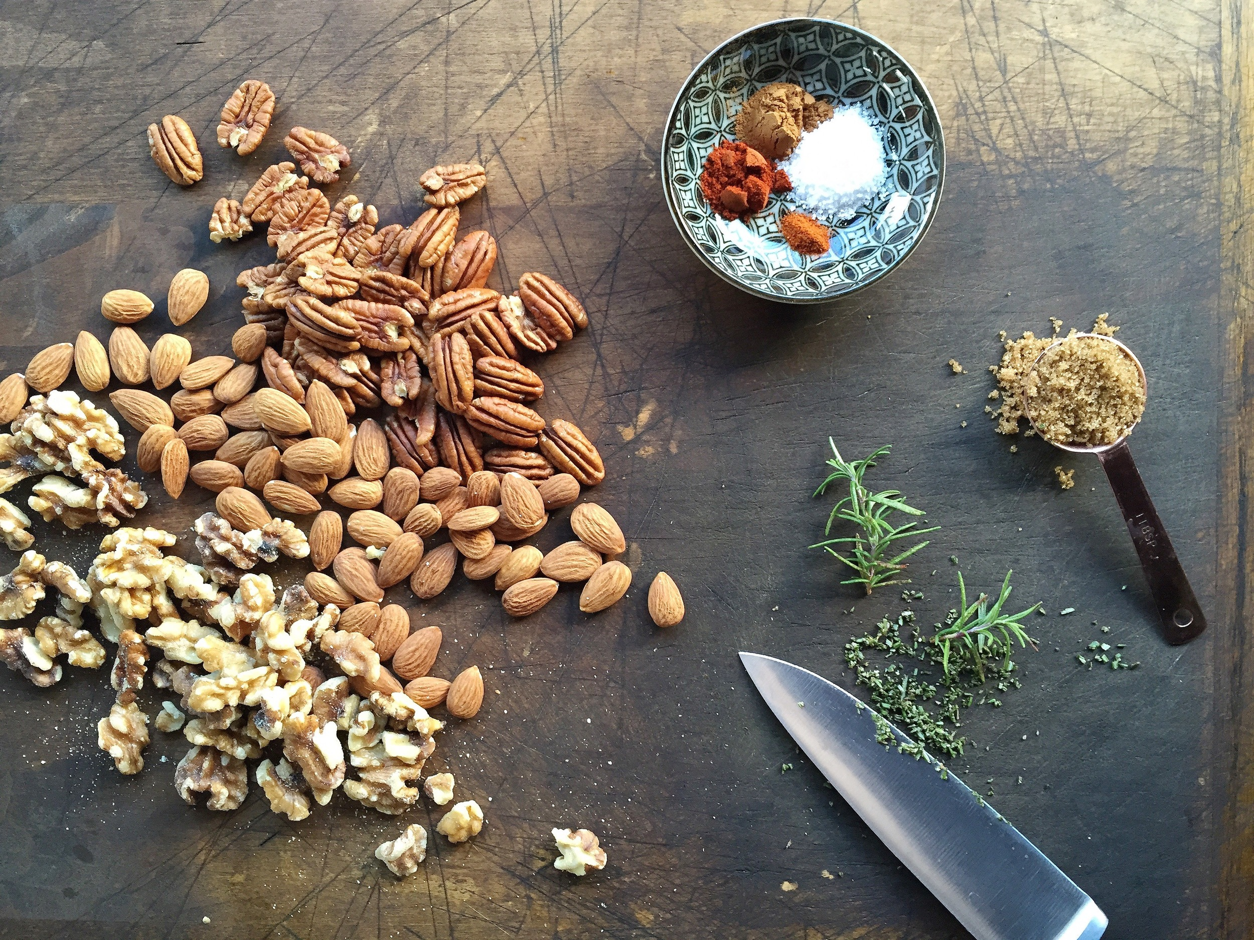 Sweet + Savory Mixed Nuts | All Purpose Flour Child