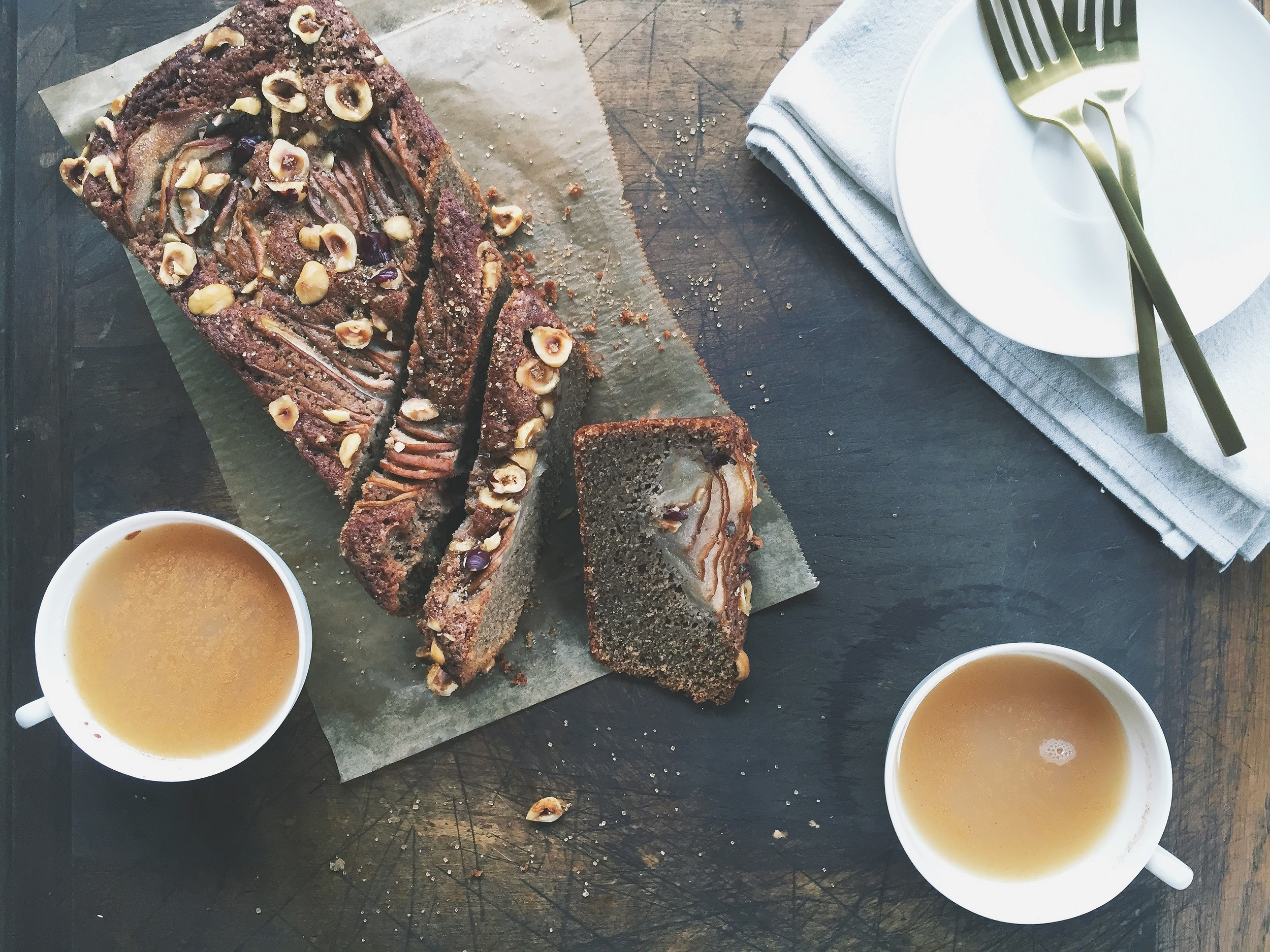 Spiced Pear Cake with Hazelnuts | All Purpose Flour Child