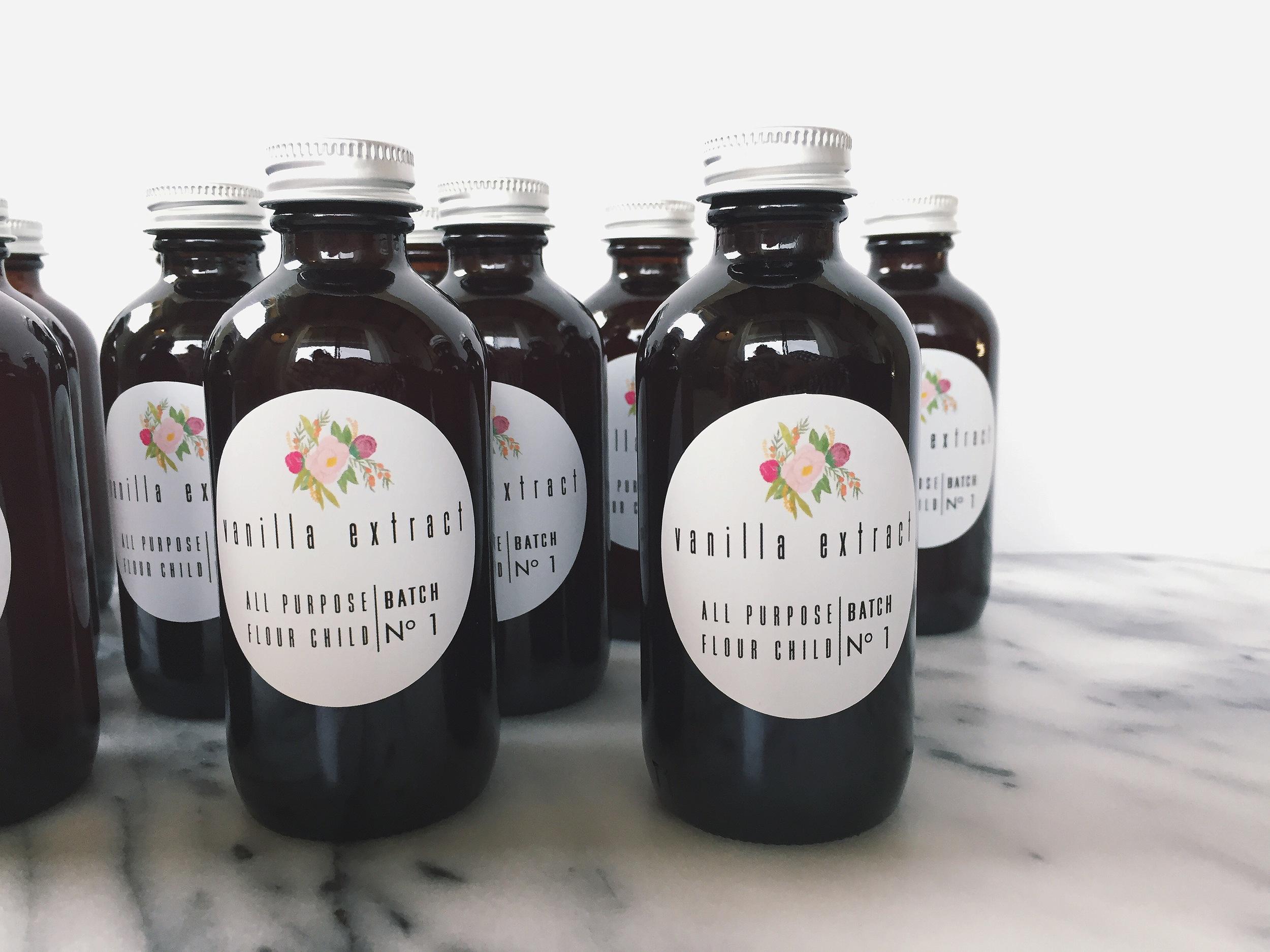 Small Batch Vanilla Extract | All Purpose Flour Child