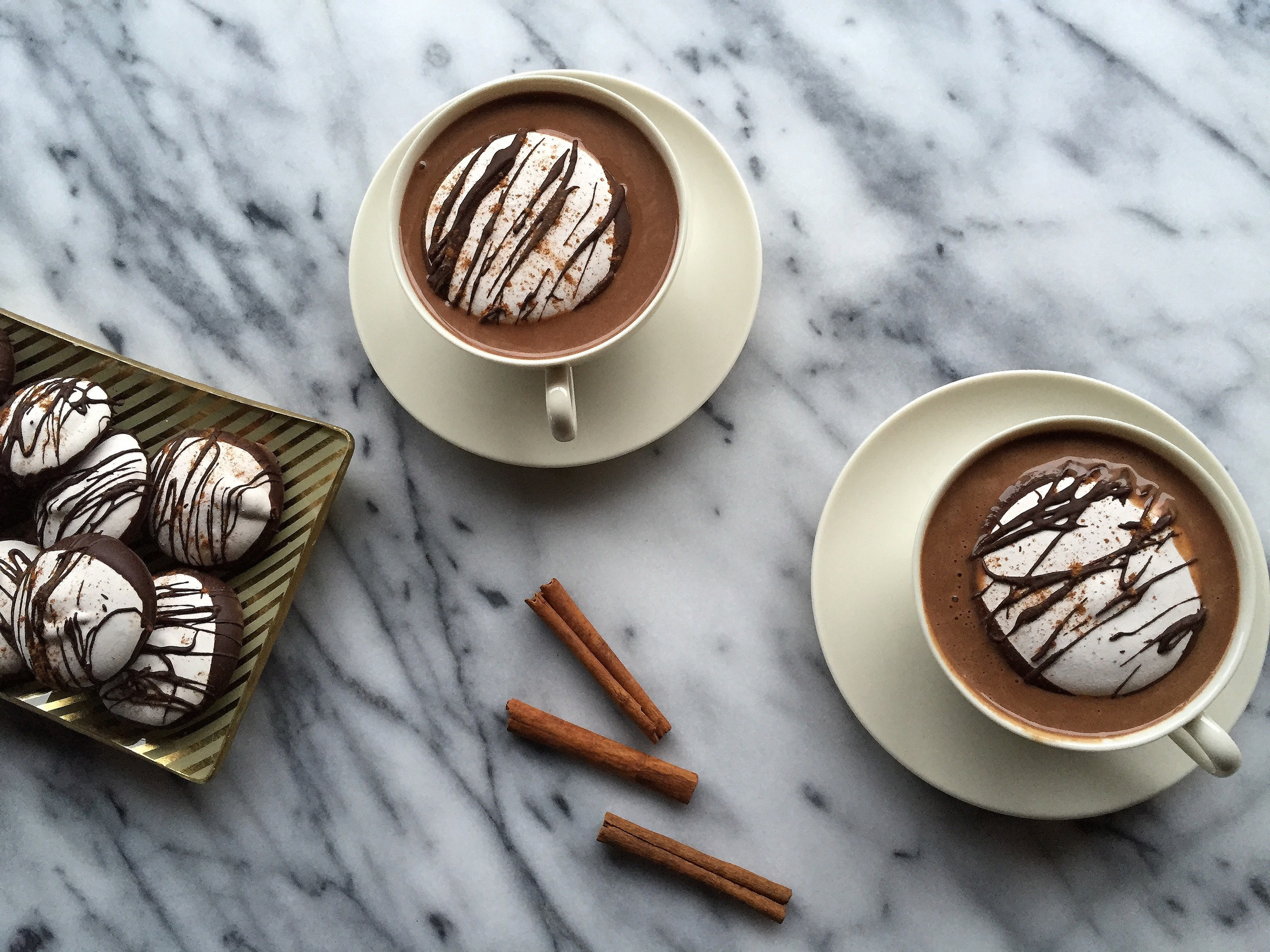 Mexican Hot Chocolate Marshmallows | All Purpose Flour Child
