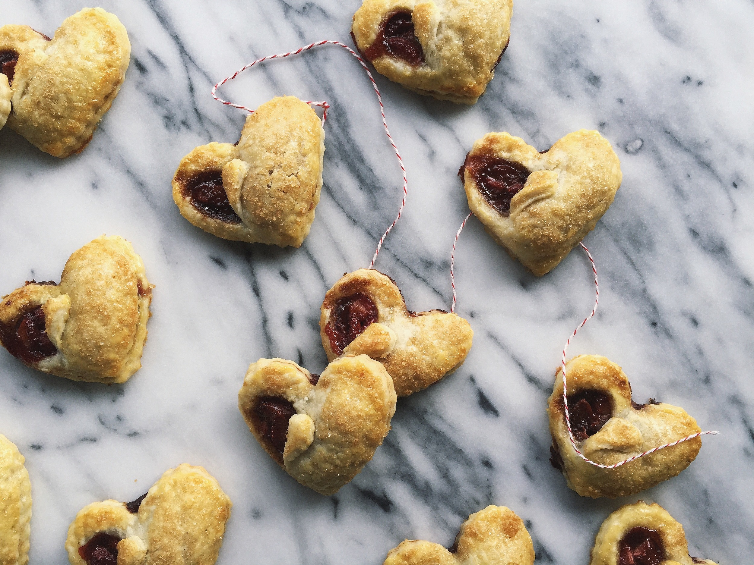 Strawberry Balsamic Hand Pies | All Purpose Flour Child